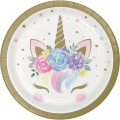 Unicorn Baby Lunch Plate