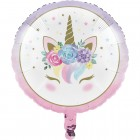 Unicorn Baby Metallic Balloon