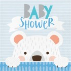 Bear Lunch Napkin 'Baby Shower'