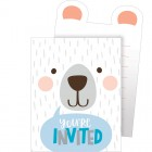 Bear Pop-up Invitations