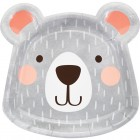Bear Shape Plate