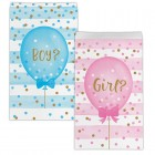 Gender Reveal Balloons Treat Bags