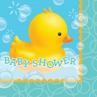 Bubble Bath Baby Shower Lunch Napkins