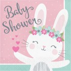 Bunny Lunch Napkins 'Baby Shower'