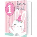 Birthday Bunny Invitations