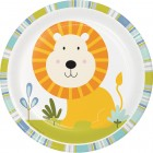 Happi Jungle Lunch Plates - Lion