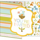 Happi Jungle Invitations