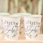 Botanical Hey Baby Cups