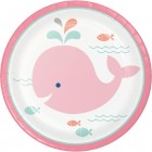 Lil Spout Pink Lunch Plates