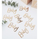 Gold Foiled Baby Confetti - Oh Baby!
