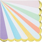 Pastel Celebrations Lunch Napkins