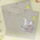 Rock-A-Bye Baby First Birthday Napkins