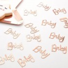 Twinkle Twinkle Rose Gold 'Baby' Confetti