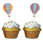 Up, Up and Away Cupcake Picks