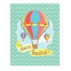 Up, Up and Away Invitations